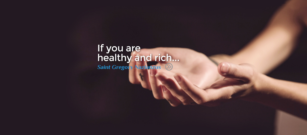 If you are healthy and rich